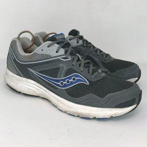 Saucony Mens Cohesion 10 Gray Running Shoe Size 10